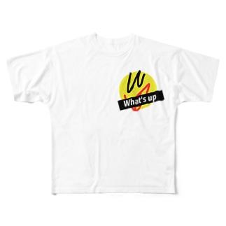 What'sup フルグラフィックTシャツ