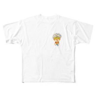 少年 Full graphic T-shirts