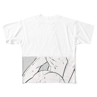 なかよし Full graphic T-shirts