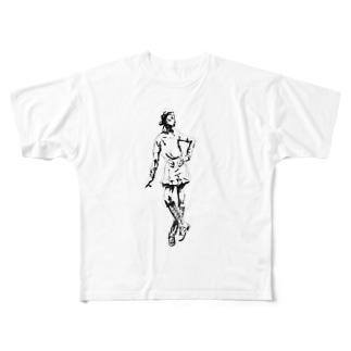 操り少女 Full graphic T-shirts