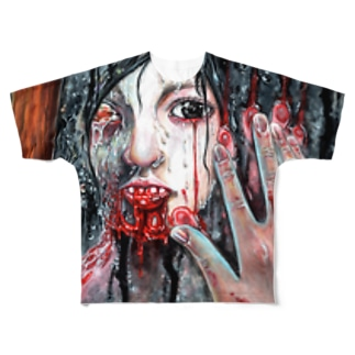 それでもアナタをアイシてる Full graphic T-shirts