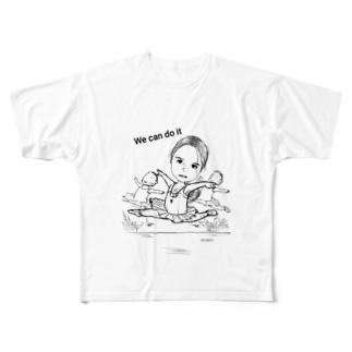 ミネリちゃん Full graphic T-shirts