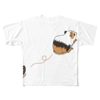 モルモットの落し物 フルグラフィックTシャツ