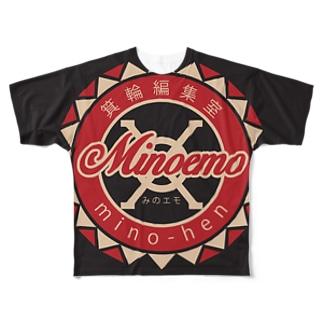 みのエモグッズ Full graphic T-shirts
