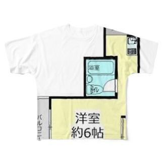 エムズ千代田201号室シャツ Full graphic T-shirts