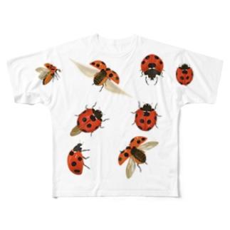 テントウムシTシャツ Full graphic T-shirts