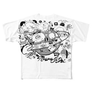 まわるすし Full graphic T-shirts