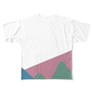 color color Full graphic T-shirts