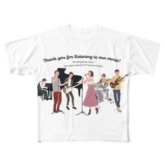 love music Full graphic T-shirts