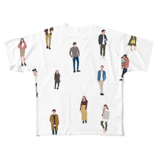 Many people Full graphic T-shirts