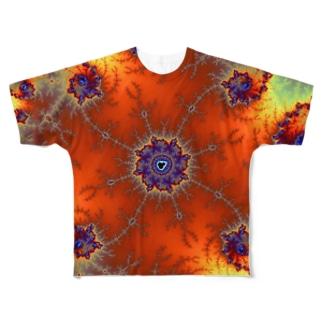 mandelbrot Full graphic T-shirts