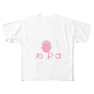 初恋タロー10pa Full graphic T-shirts