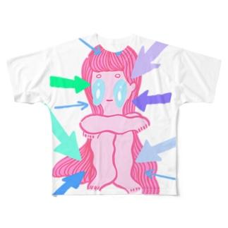 SHISEN NI HISOMU Full graphic T-shirts