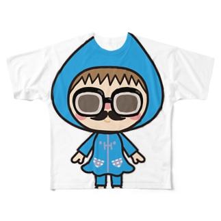 レインはむこ Full graphic T-shirts