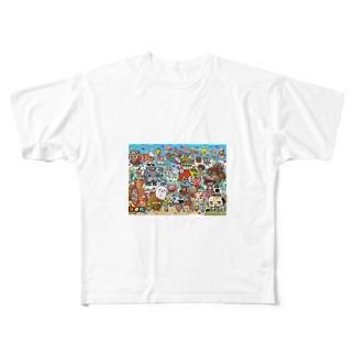 サンプル Full graphic T-shirts