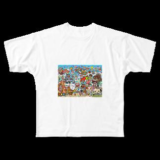 326(なかむらみつる)のサンプル Full graphic T-shirts