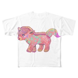 アインホーン Full graphic T-shirts