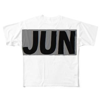 JUN  グッズ 3 Full graphic T-shirts