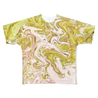 ( ^ω^ ) Full graphic T-shirts