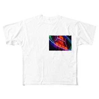 ニーハオ Full graphic T-shirts