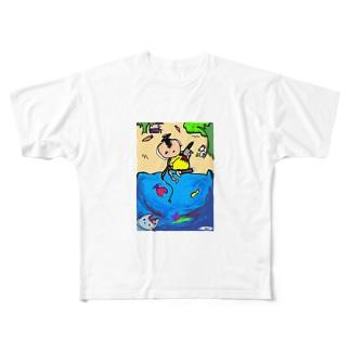 shark dreeeeam Full graphic T-shirts
