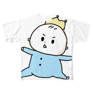 我が子! Full graphic T-shirts