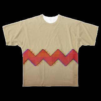 超水道のghostpia 小夜子なりきり Full graphic T-shirts