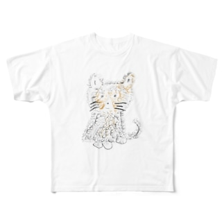 𝓷𝓮𝓬𝓸 Full graphic T-shirts