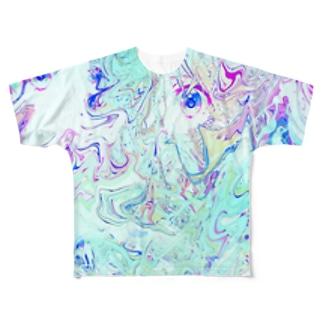 (°▽°) Full graphic T-shirts