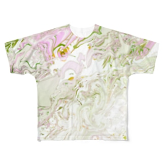 (*´-`) Full graphic T-shirts