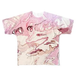 (^ν^) Full graphic T-shirts