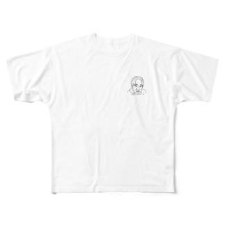 支配層 Full graphic T-shirts