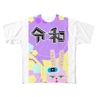 レイワ Full graphic T-shirts