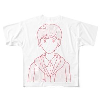 令和ボーイ Full graphic T-shirts