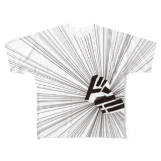 ドン!Tシャツ Full graphic T-shirts