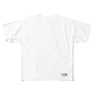 灰皿 Full graphic T-shirts