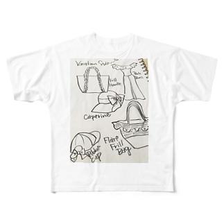 ファッションスケジュール Full graphic T-shirts