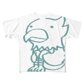 ワシさん Full graphic T-shirts