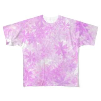 Sakura フルグラフィックTシャツ
