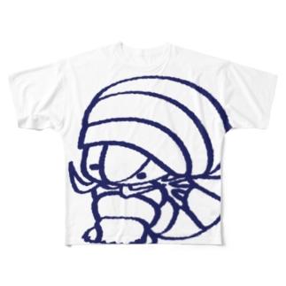 ダイオウグソクムシくん Full graphic T-shirts