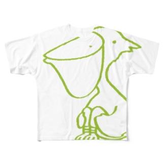 ペリカンさん Full graphic T-shirts