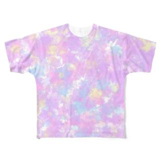Stars(YumeKawaii color) フルグラフィックTシャツ