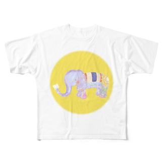ロムパットくん Full graphic T-shirts