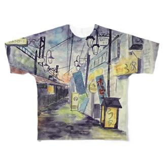 黄昏のバーボンロード Full graphic T-shirts