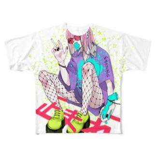 hksn Full graphic T-shirts