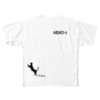NEKO-T(ネコティー) Full graphic T-shirts