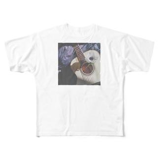 沙貴ちのギター Full graphic T-shirts