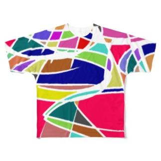 カオス理論 Full graphic T-shirts