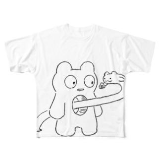 ぺこりんちょ Full graphic T-shirts