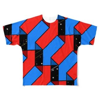 UP.DOWM 2 Full graphic T-shirts